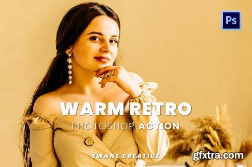 Warm Retro Photoshop Action