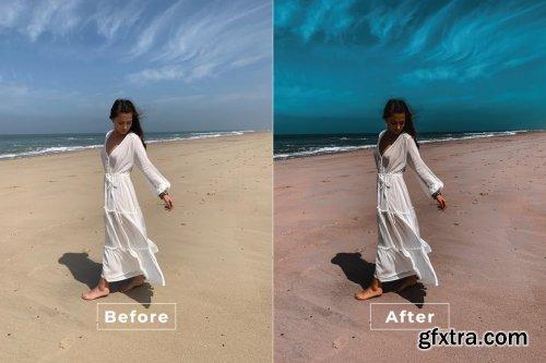 Airy Retro Photoshop Action