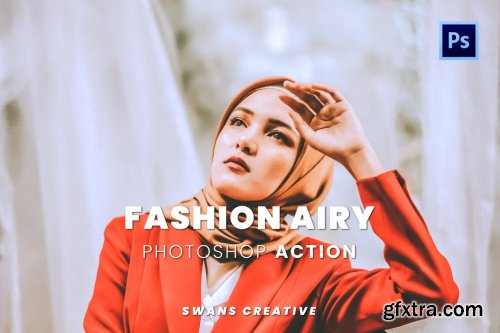 Fashion Airy Photoshop Action