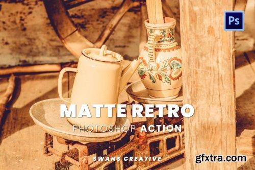 Matte Retro Photoshop Action