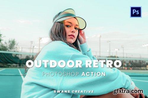 Outdoor Retro Photoshop Action