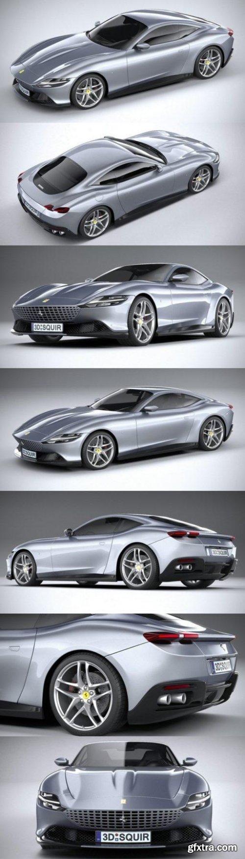 Ferrari Roma 2020 3D Model