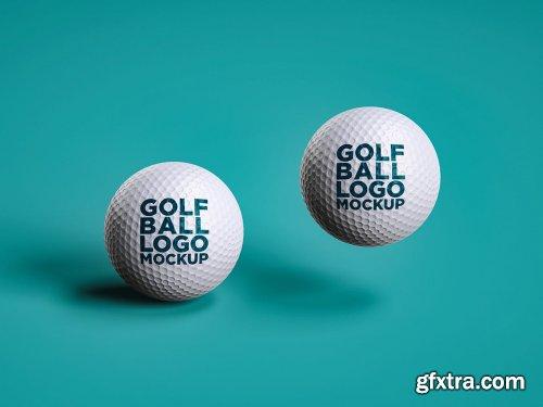 Golf Ball Logo Mockup 002