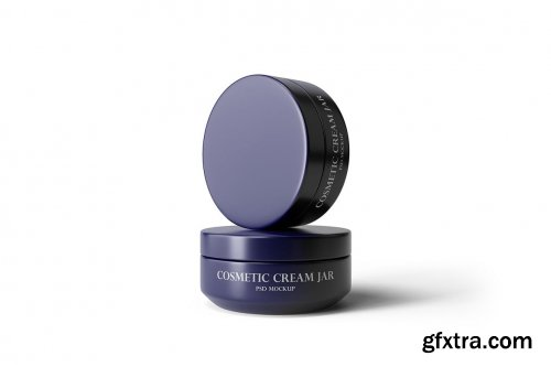 Cosmetic Cream Jar Mockup Vol.2