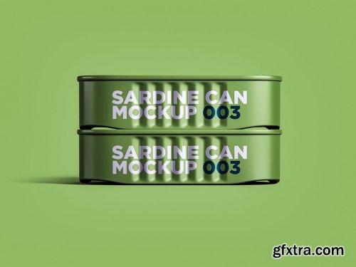 Sardine Can Mockup 003
