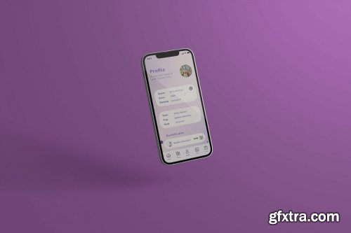Realistic Phone Mock-Up