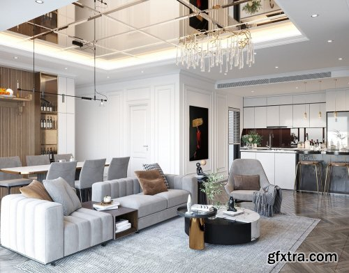 Interior Living Room By Quan Nguyen