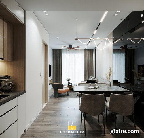 Interior Apartment Model By An Ngoc