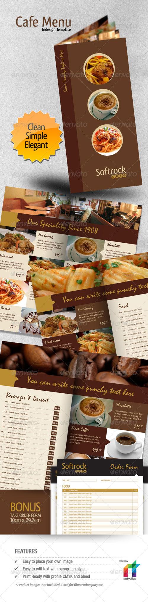 Cafe menu indesign template free ebooks download ebookee
