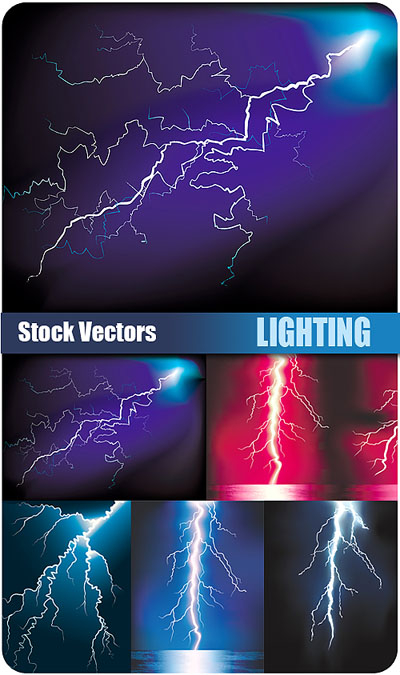 Stock Vectors - Lightning