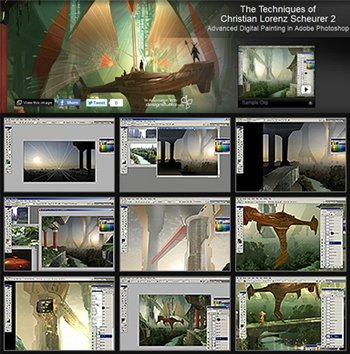 Gnomon Workshop : Advanced Digital Painting in Adobe Photoshop