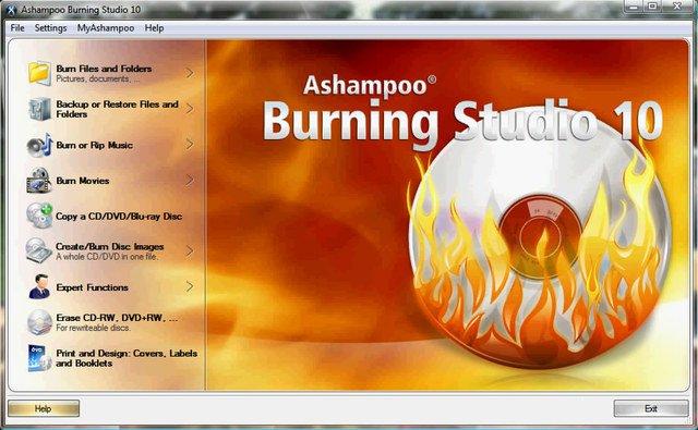 Ashampoo Burning Studio 10.0.11 Final crack-serials The new Ashampoo
