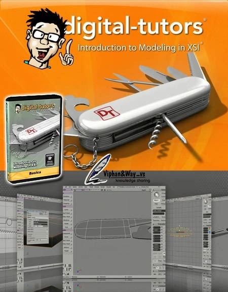 I3D Tutorials - Introduction To SubD Modeling In Softimage XSI (1 dvd)