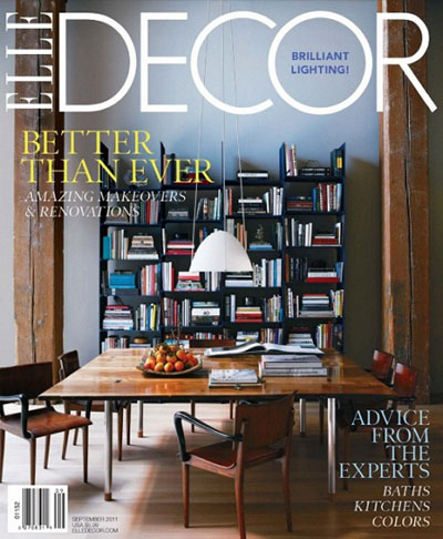 Decorating Magazines on Elle Decor Magazine   September 2011  Hq Pdf     Graphic Gfx Sources