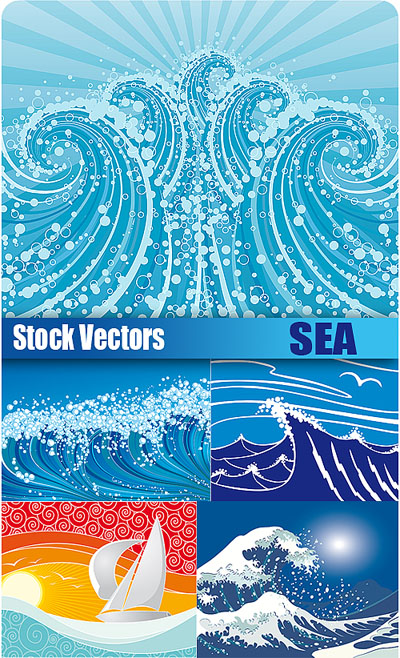 Stock Vectors - Sea