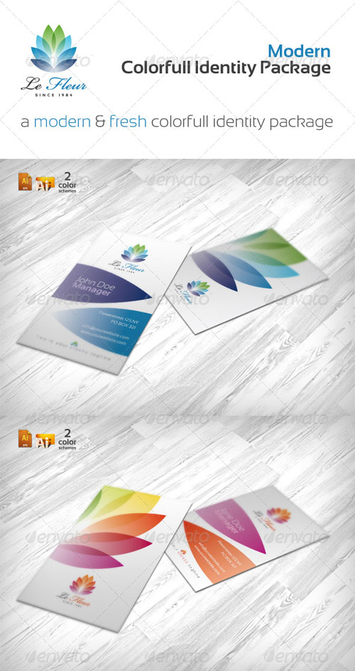 GraphicRiver - RW Colorful Print Package 236286