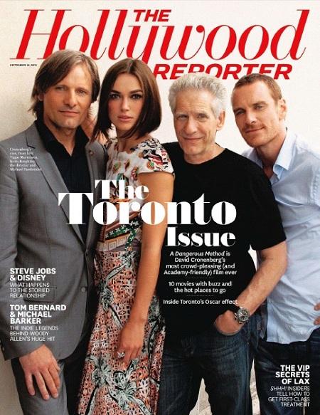 Hollywood Reporter (16 September 2011)