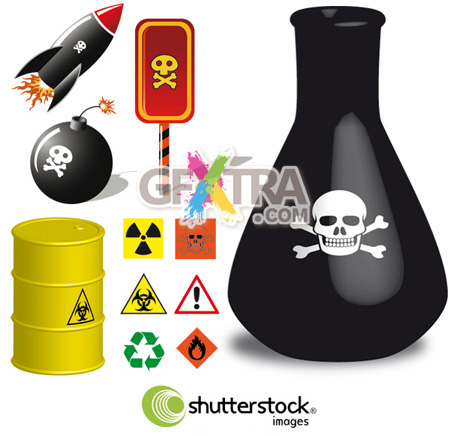 Shutterstock Dangerous in Vector