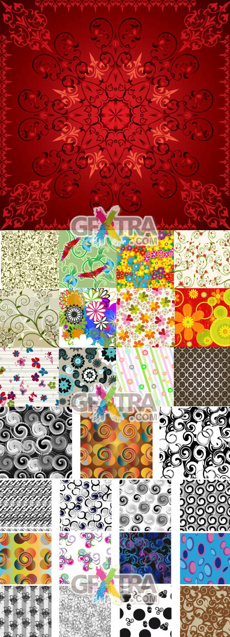 Shutterstock Floral Background (Part 01)