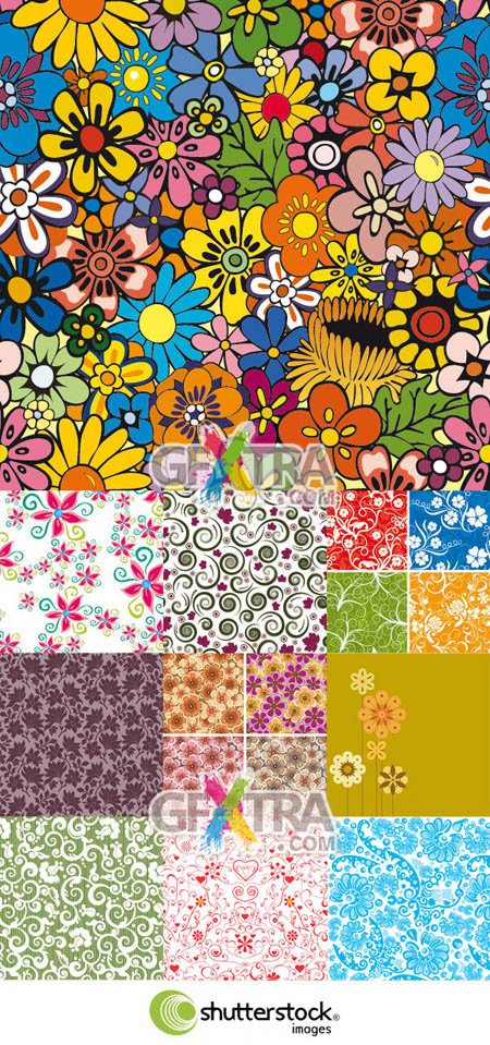 Shutterstock Floral Background (Part 08)