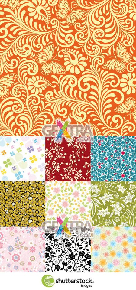 Shutterstock Floral Background (Part 11)