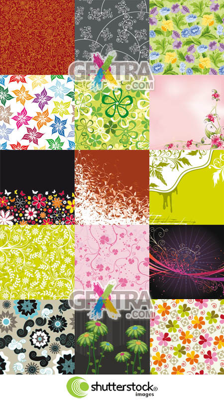 Shutterstock Floral Background (Part 13)