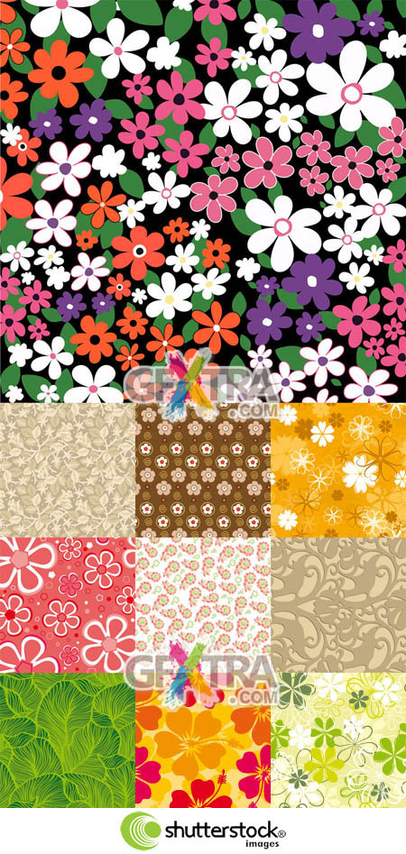Shutterstock Floral Background (Part 14)