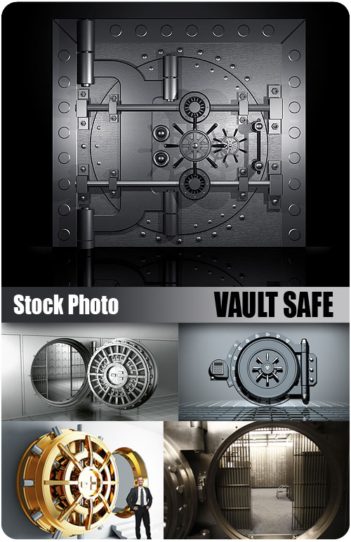 UHQ Stock Photo - Vault Safe