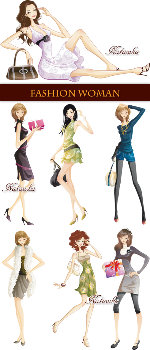 Fashion Woman - Stock Vectors