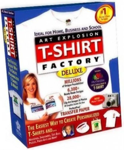 Art Explosion T-Shirt Factory Deluxe 2.01