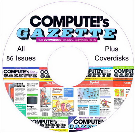 Compute!'s Gazette Complete Magazine collection (All 86 Issues and Disks)