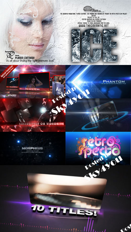 After Effects Project VideoHive Pack 03