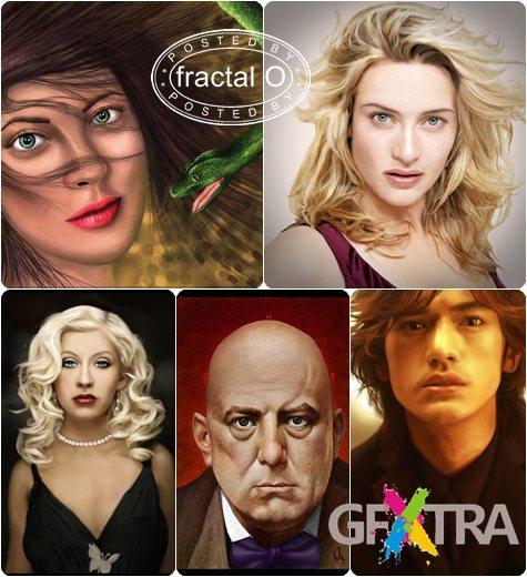 Amazing Digital Painting Portraits | 49 HQ JPG | 24.70MB | HF-ES-RS-DF
