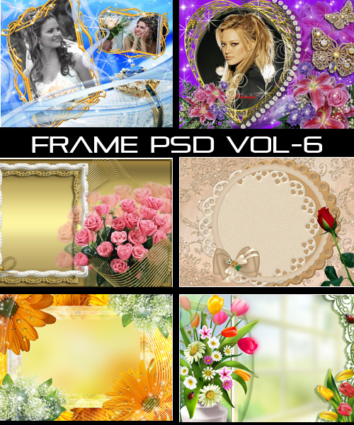 Frame PSD Collection Vol 6