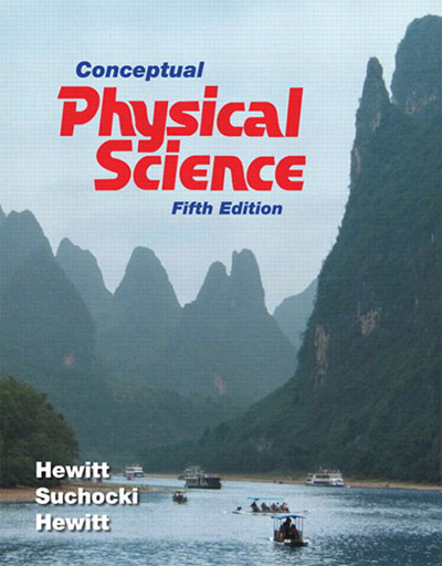 Conceptual physical science 5th edition 187 vector
