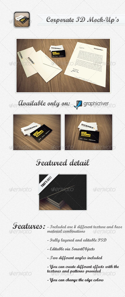 GraphicRiver - Corporate ID Mock-Up's 231893
