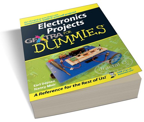 Electronics Projects For Dummies | 13.46MB | HF-ES-RS-DF 408 pages | Publisher: For Dummies (July 31, 2006) | Language: English