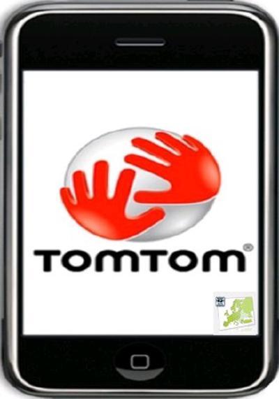 GPS для iPhone 3Gs: TomTom Официальная Карта России (Full) v1.5 (RUS)(включ