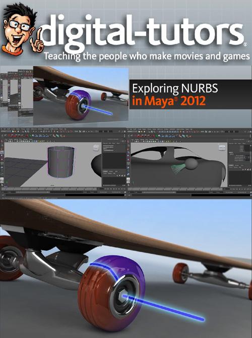 Exploring NURBS in Maya 2012 - Digitaltutors