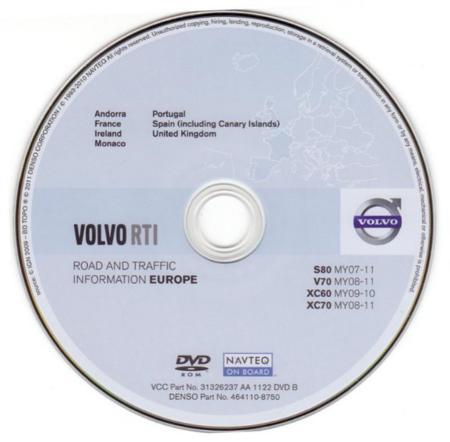 Volvo RTI - 2011.1 - Europe (MMM+) | GPS Archive