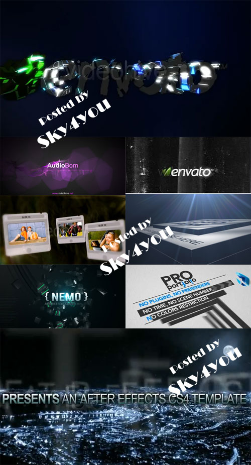 After Effects Project VideoHive Pack 13