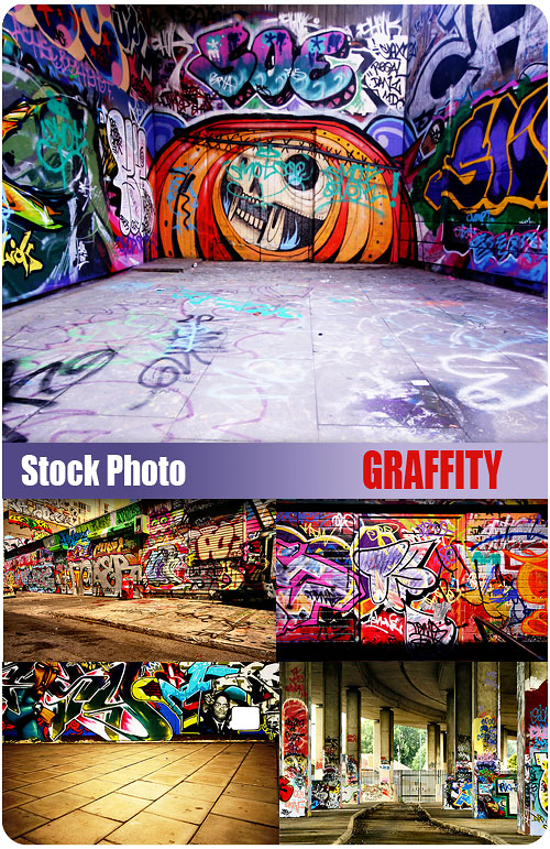 UHQ Stock Photo - Graffity