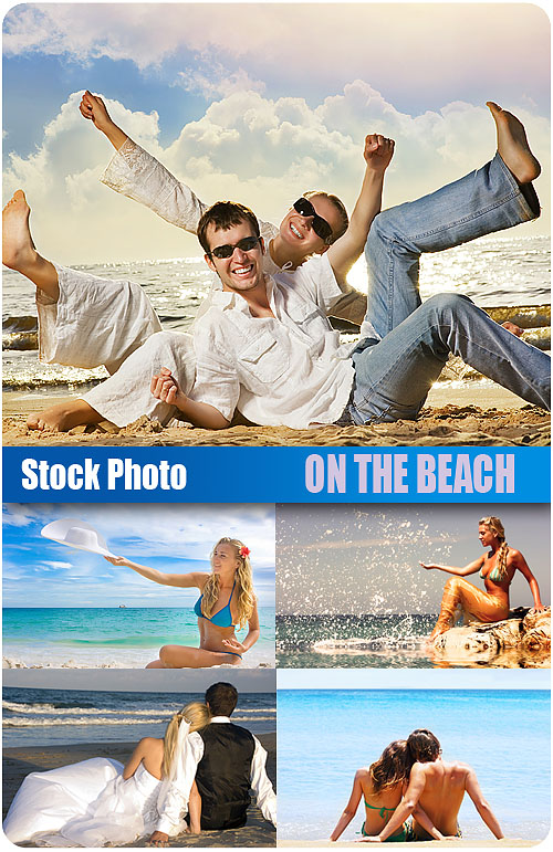 Stock Photo - On the beach