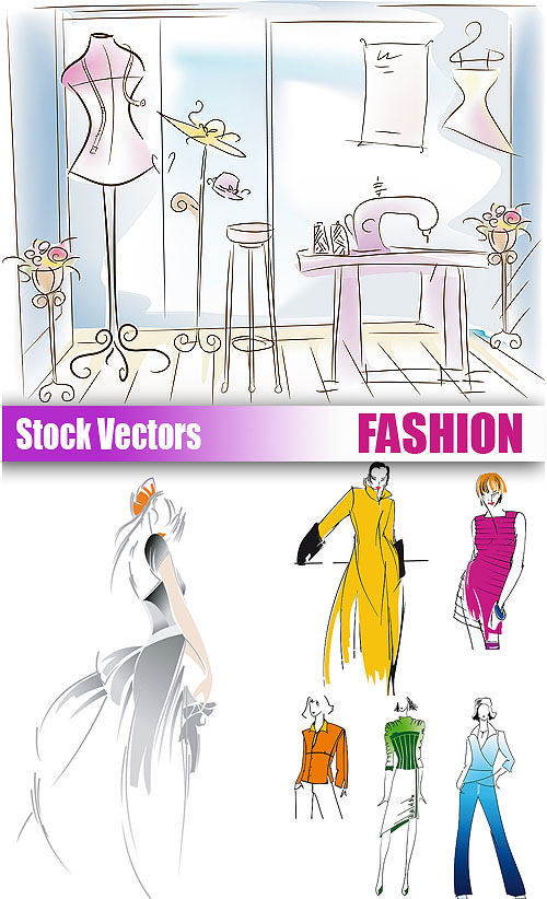Stock Vectors - Fashion