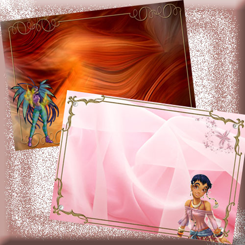 Childish Photoframe - W.I.T.C.H. - Taranee