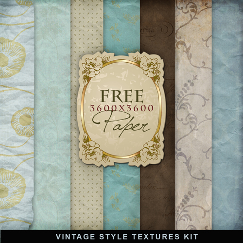 Textures - Old Vintage Backgrounds #50