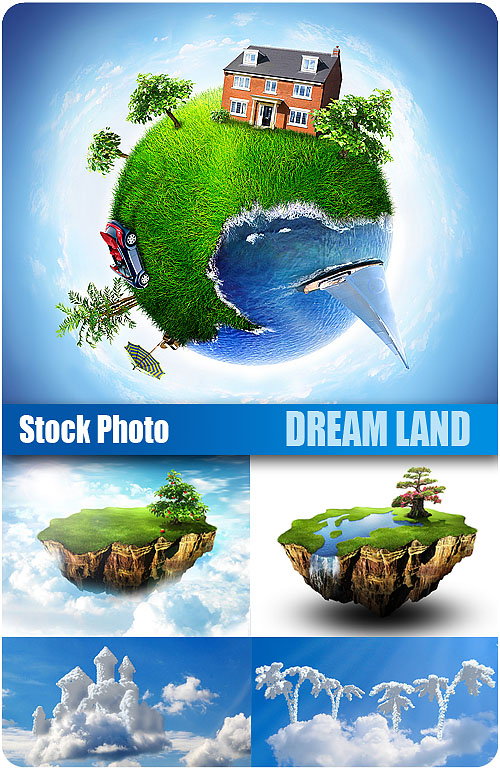 UHQ Stock Photo - Dream Land