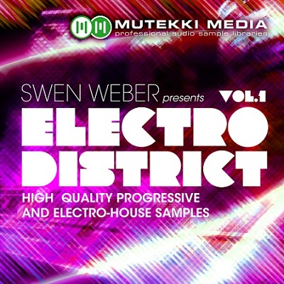Mutekki Media Swen Weber Presents Electro District Vol 1 MULTiFORMAT