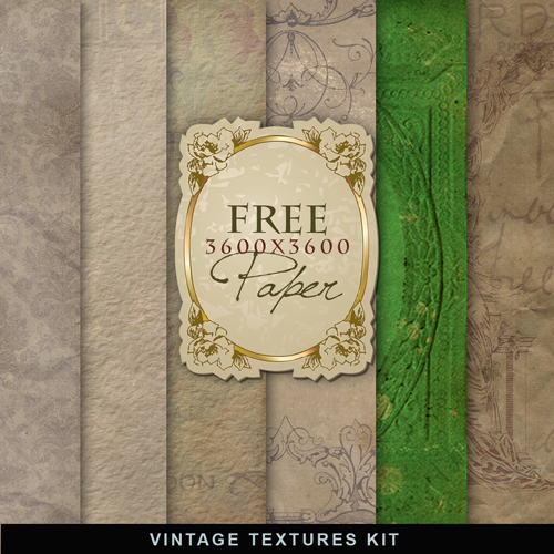 Textures - Old Vintage Backgrounds #52