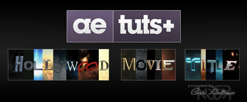 AE Tuts+ Hollywood Movie Titles Series - All Source Files